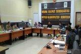 DPRD dan Pemkab Seruyan bahas hasil fasilitasi empat buah Raperda