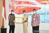 Pesisir Selatan terima penghargaan Kabupaten Peduli HAM, Bupati: Ini buah kerja keras seluruh aparatur