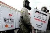 Tiba di Kalteng, vaksin tak langsung didistribusikan ke kabupaten/kota