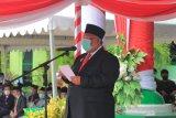 Gubernur Sultra Pimpin Upacara Hari Amal Bakti ke-75 Kementerian Agama