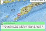 Gempa maginitudo 4,8 guncang Kabupaten Kupang