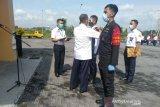 Jumlah penumpang Bandara Adi Soemarmo  turun 76 persen