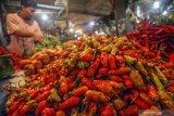 Harga cabai rawit hijau dan daging ayam kampung di Inhil alami kenaikan
