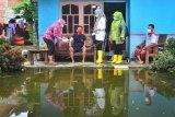 Pengobatan gratis warga korban banjir