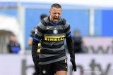 Liga Italia, Inter Milan kalah, Conte sebut Dewi Fortuna tak berpihak