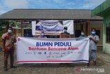 BUMN Peduli bantu warga  korban  banjir dan longsor di Kepri