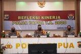 Kapolda Papua paparkan hasill capaian kinerja tahun 2020