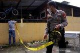 Penggerebekan rumah terduga teroris di Makassar