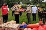 Pemprov Sulut distribusikan bantuan untuk korban banjir di Laine Sangihe
