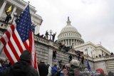 Empat tewas, 52 ditangkap seusai kerusuhan di Capitol AS