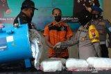 Polisi Tangkap Tersangka Pengedar 7,24 Kilogram Sabu Dalam Tabung Kompresor