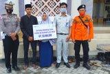 Ahli waris anggota BPBD Lotim korban kecelakaan maut terima santunan Jasa Raharja