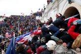 Donald Trump disebut diam-diam salahkan Antifa atas penyerbuan Gedung Kongres