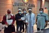 Abu Bakar Ba'asyir perjalanan pulang ke Ponpes Ngruki