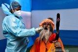 Di India, petugas kebersihan jadi penerima vaksin COVID-19 pertama