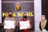 Polda Sumsel-BRI Syariah kerja sama bangkitkan  UMKM keluarga polisi