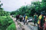 Satgas Pamtas Yonif MR 413 Kostrad bangun jalan di perbatasan RI-PNG