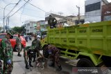 TNI sampai turun tangan atasi krisis sampah di Kota Pekanbaru