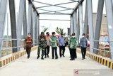 Gubernur Sulsel resmikan jembatan Sungai Watu di Bone