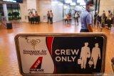 Sriwijaya bawa 50 penumpang dan 12 awak kabin
