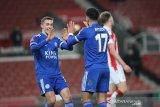 Leicester lolos ke putaran keempat Piala FA setelah hantam Stoke 4-0