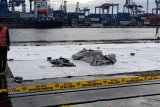 Dua kantong jenazah temuan Sriwijaya dikirim ke RS Polri
