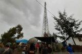 Diskominfo Papua tunggu perkembangan perbaikan BTS yang terbakar di Puncak