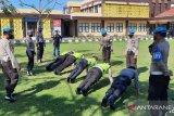 Puluhan anggota Polres Lombok Utara dapat hukuman pelanggaran disiplin