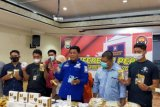 Polrestabes Makassar gagalkan peredaran belasan ribu unit kosmetik ilegal
