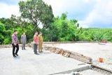 Wagub Sulsel tinjau pembangunan jembatan dan jalan lingkar di Watangpulu Sidrap