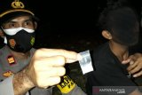 Polisi tangkap pengendara motor bawa sabu di Palu