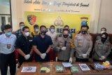 Polisi tangkap empat kurir sabu asal Aceh