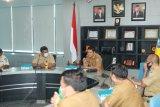 Pembahasan Draft Instruksi Gubernur Soal PPKM