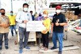 Telkom serahkan bantuan sosial kepada korban kebakaran Palangka Raya