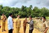 13 perusahaan  sepakat perbaiki jalan rusak hubungkan Lahei-Lahei Barat