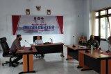 Wabup Sitaro Ikuti Vidcon Penanganan Penyebaran Covid 19  Yang Digelar Pemerintah Provinsi