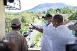 Bupati Sleman memantau aktivitas Gunung Merapi di beberapa titik