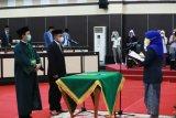 Muchtar Badawing dilantik anggota DPRD Sulsel