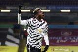 Pogba merasa senang Manchester United raih puncak Liga Inggris