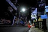 Suasana Kuta Bali saat PPKM