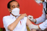Presiden dapatkan vaksinasi COVID-19 kedua