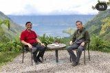 Luhut ajak Menlu China nikmati pesona alam Danau Toba