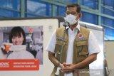 Dinyatakan positif COVID-19,   Ketua Satgas Doni Monardo belum dapat suntikan vaksin