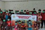 Satgas Yonif 413 Kostrad cegah penyakit kaki gajah anak di perbatasan