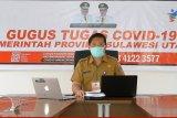 Penambahan kasus baru COVID-19 di Sulut terjadi di 13 kabupaten dan kota