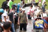 Banjir Kota Solok juga patahkan saluran irigasi induk hingga puluhan hektare sawah terancam kekurangan air
