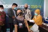 Kapolres Tarakan penerima vaksin COVID-19 pertama di Tarakan