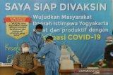 Wagub Paku Alam X jadi penerima vaksinasi COVID-19 pertama di DIY