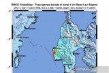 Gempa magnitudo 5,9 guncang Majene, Sulbar, dipicu sesar naik Mamuju