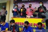 Polrestabes Semarang ringkus tiga anggota komplotan begal